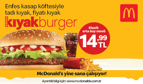 McDonald's Yine Sana Çalışıyor!